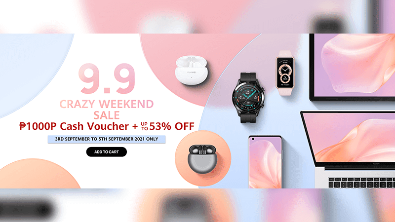 Huawei announces 9.9 Surprise Sale deals on Lazada, Shopee, and Huawei Online Store