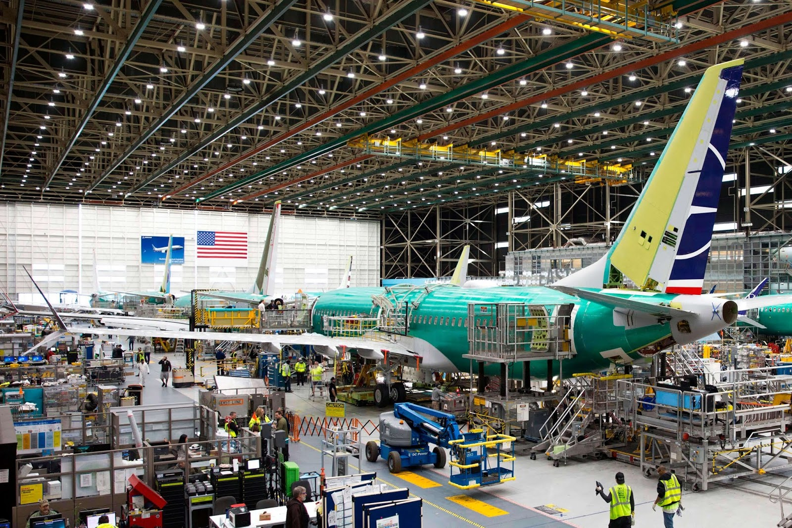 boeing resumes 737 max production  airlinerwatch