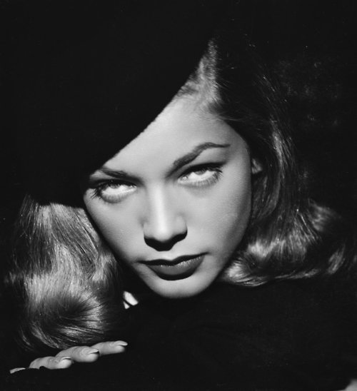 "Style Icon - Lauren Bacall and ""The Look"""