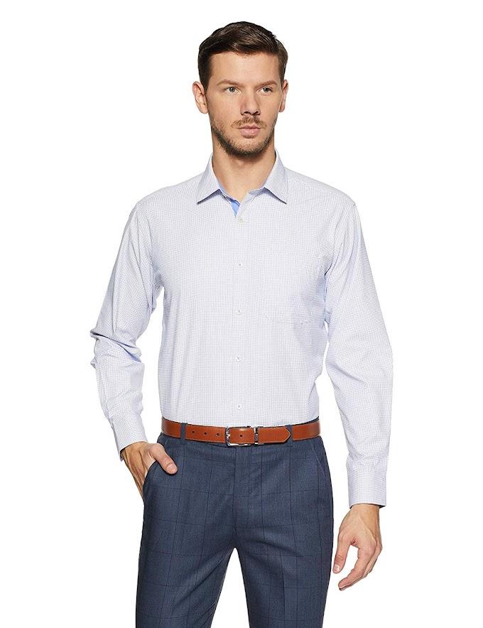 Rs,288/- Amazon Brand - Symbol Men's Formal Shirt
