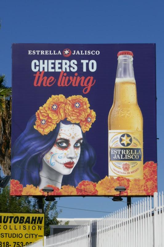 Estrella Jalisco Cheers to living billboard