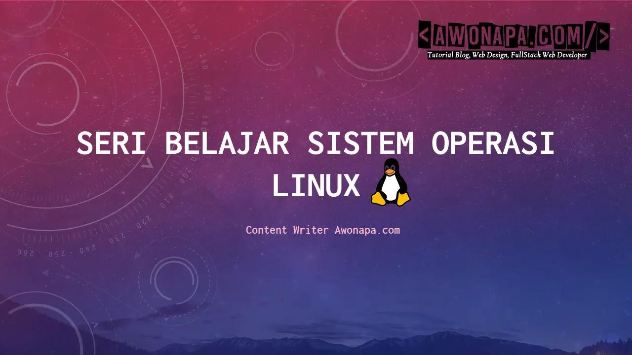 Belajar Linux Pemula
