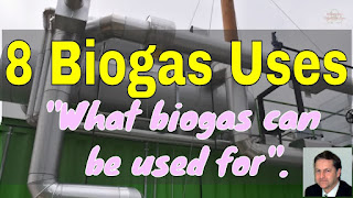 8 Biogas Uses - video thumbnail image.