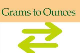 Grams to Ounces