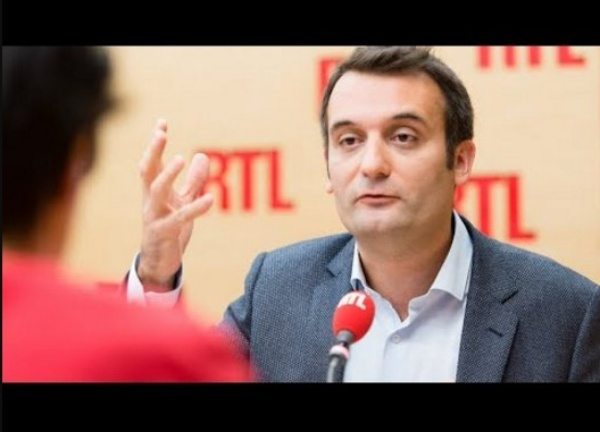 Florian Philippot était l'invité de RTL le 22 septembre 2017