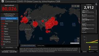 Indonesia dikatakan dihantui oleh wabak virus korona walaupun negara lain dibersihkan dari Covid-19.