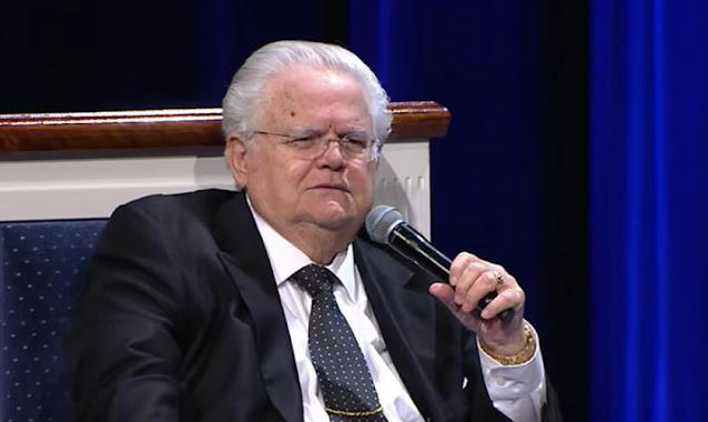 Pastor John Hagee credita a Jesus sua cura da Covid-19