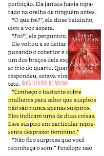 imagem frases do livro entre o amor e a vingança três