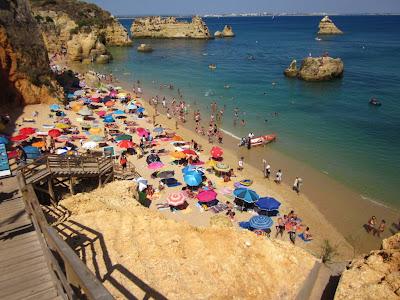 Dona Ana beach in the Algarve