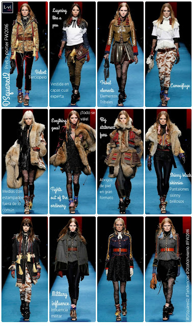 FW2016 Trends: The catch-all collection, DSquared2   L-vi.com