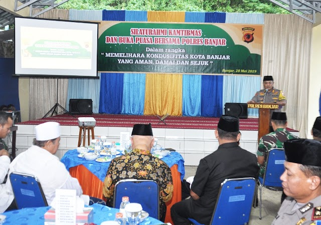 Jalin Silaturahmi Pererat Kesatuan dan Persatuan, Kapolres Banjar adakan Buka Bersama