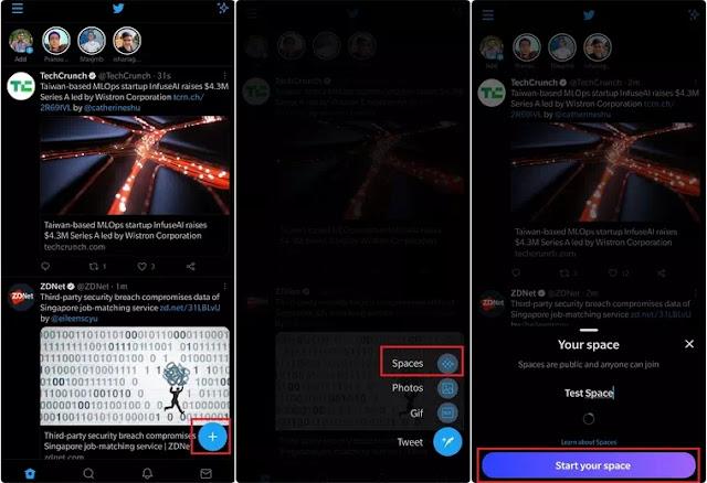 Cara Membuat dan Menggunakan Twitter Spaces Cara Membuat dan Menggunakan Twitter Spaces