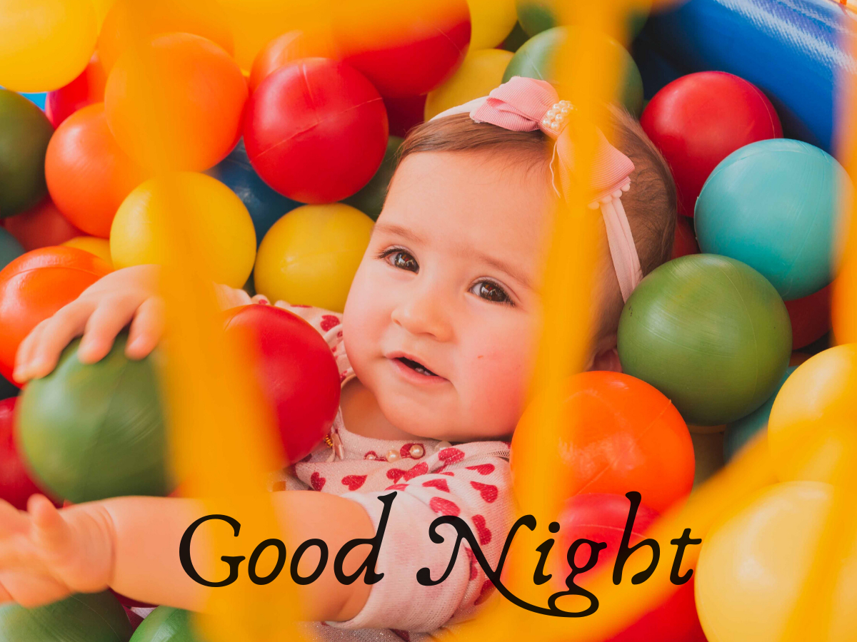 Cute Baby Good Night Images photo wallpaper free hd