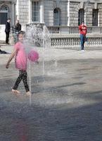 Pink Balloon, Somerset House, malooka