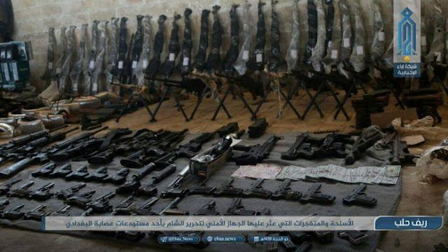 Kho vũ khí khổng lồ do Mỹ, Israel sản xuất được tìm thấy ở Syria