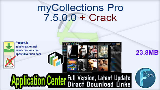 myCollections Pro 7.5.0.0 + Crack