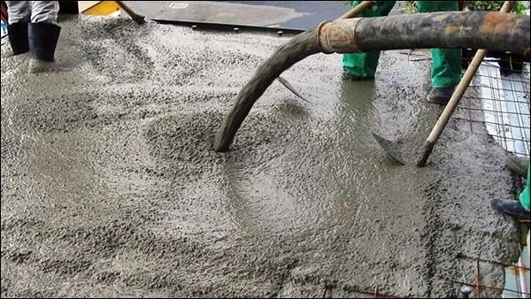 concretagem com concreto usinado