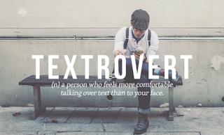 Resultado de imagen de textrovert