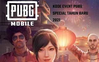 Kode Event PUBG Mobile Special Tahun Baru 2021