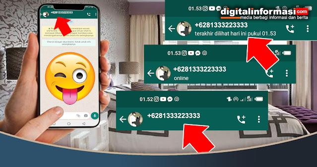 Whatsapp, cara menyembunyikan status online Whatsapp, menyembunyikan status online Whatsapp, menyembunyikan terakhir dilihat di whatsapp, tutorial Whatsapp, Status Online Whatsapp