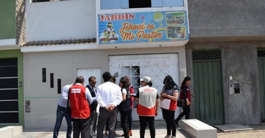 Autoridades intervienen otros dos colegios informales en Los Olivos