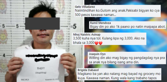 Lalaking Nagpuslit ng Gatas at Diaper sa isang Grocery, Inulan ng Tulong galing netizens!