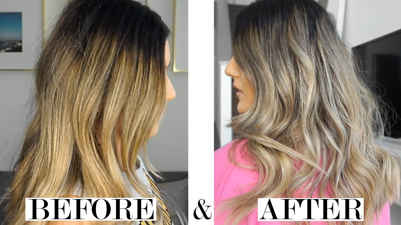 Brassy To Ashy How To Tone Your Hair With Shampoo