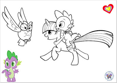 My Little Pony Spike coloring