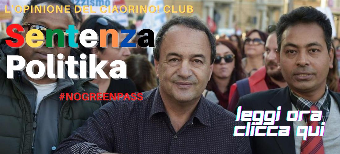 CIAORINO! CLUB : E' SENTENZA POLITICA