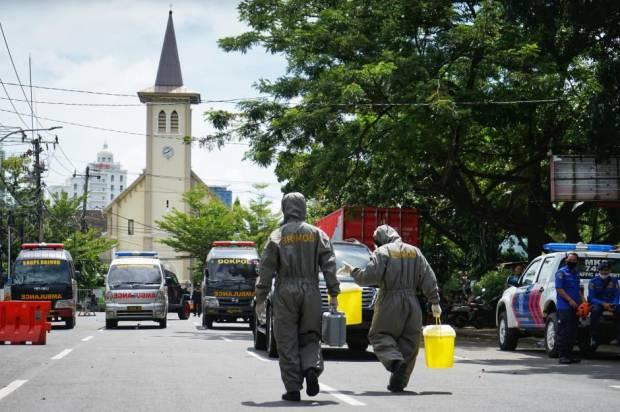 Kecam Pelaku Bom Bunuh Diri Gereja Katedral Makassar, FPI Sampaikan Tiga Pernyataan Ini