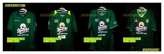 Identitas Klub Persebaya Surabaya 2020 Home Shirt Ceritajersey