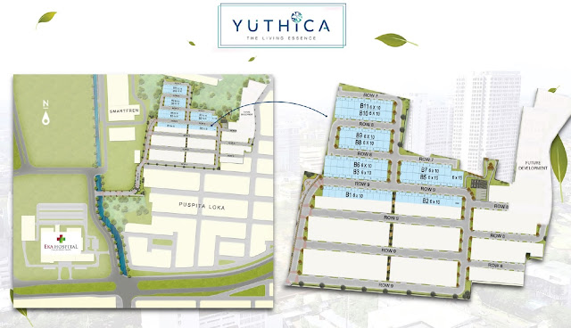 Siteplan Yuthica BSD