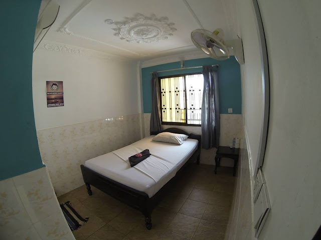 Room at Mad Monkey Hostel, Siem Reap