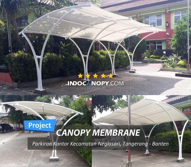 canopy membrane area parkir