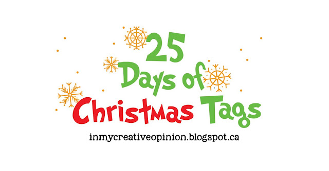 25 Days of Christmas Tags 2020 Handmade Holiday Event