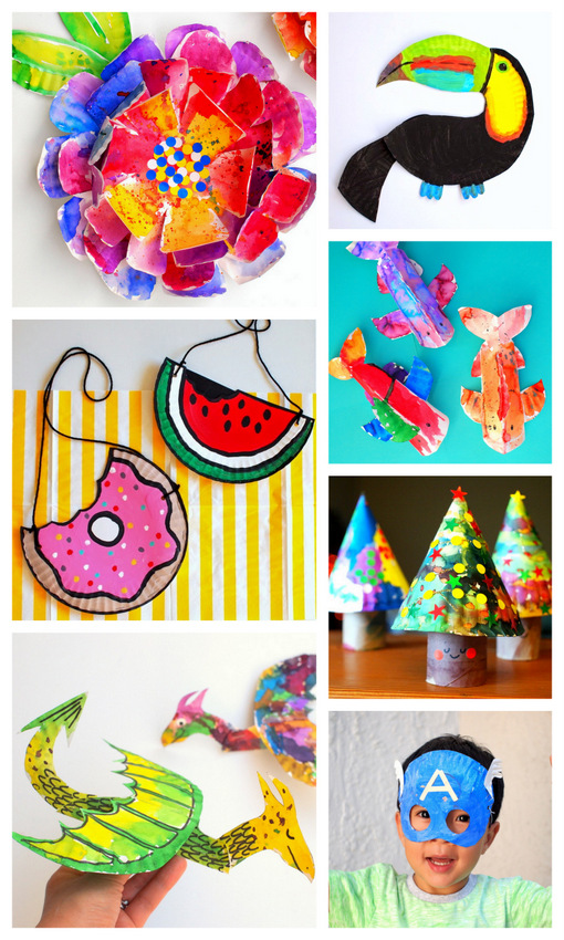 30 Awesomely Unique And Fun Paper Plate Crafts For Kids Pink