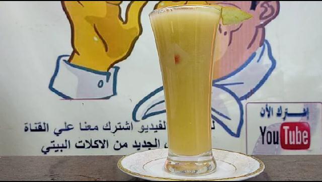 طريقة عمل عصير تفاح الشيف محمد الدخميسي