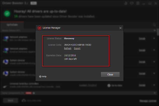 تحميل برنامج Driver booster 3.3 Pro مع سيريال