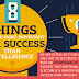 8 Things that are more Important for Success than Intelligence #infographic