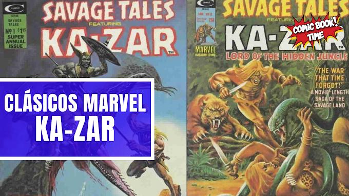 "Clásicos Marvel: ""Ka-Zar"" de John Buscema"