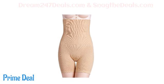 50%OFF SYTUNG Tummy Control Shapewear for Women High Waist Trainer Body Shaper Shorts Butt Lifter Thigh Slimmer