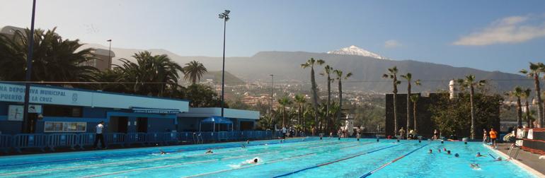 Ntc natacion canaria aniversario del cierre de la piscina for Piscina municipal puerto de la cruz