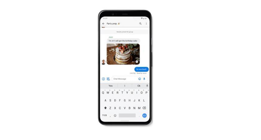 Google RCS Messages