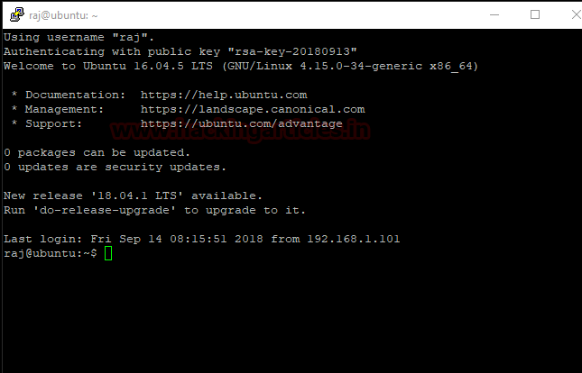 Multiple Ways to Secure SSH Port 18 – 16