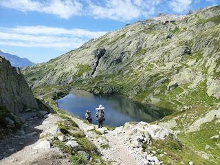 Lac des Chéserys Tour del Mont Blanc