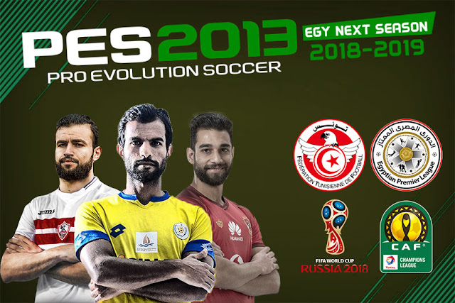 Pes 2013 Egyptian League And Caf Champions League 20182019