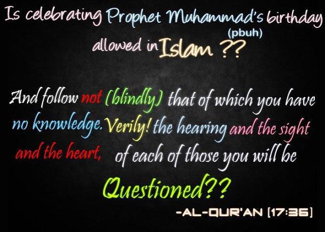Seedha Rasta سِدھا رَستہ: Is Celebrating Prophet Muhammad's