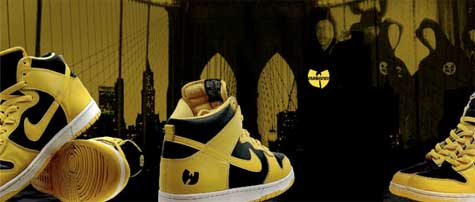 Zapatillas Nike Dunk HI Killa Bee de Wu-Tang Clan