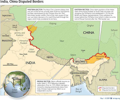Chinese and Indian troops 'in new border clash'