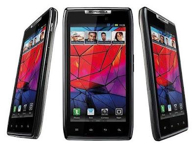 RAZR, o smartphone mais fino do mundo